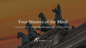 Four masters of the mind
